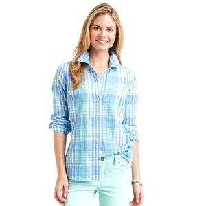 Vineyard Vines Villa Plaid Double Weave Shirt